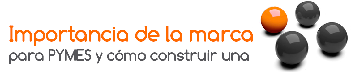 Logo Importancia de la marca para PYMES