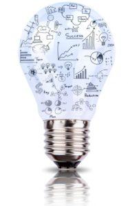Bombilla liderazgo innovación