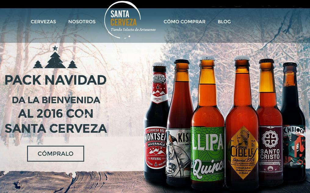 Santa Cerveza inaugura su eCommerce de cerveza artesana