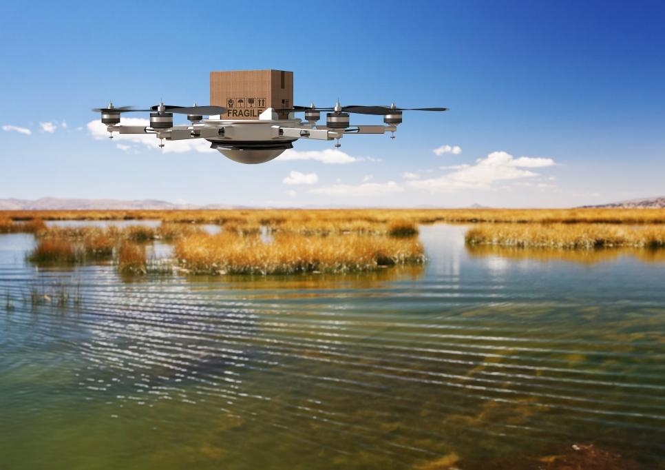 El envío con drones ya es una realidad en China