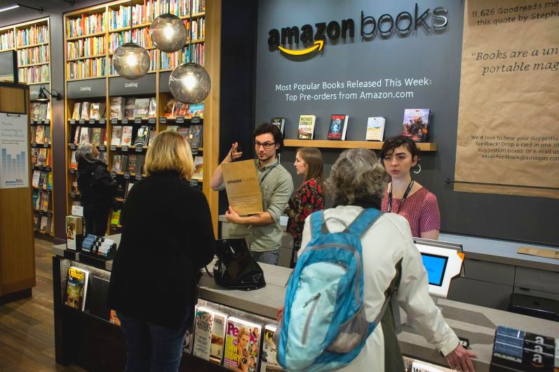 Amazon podría abrir 400 librerías en Estados Unidos