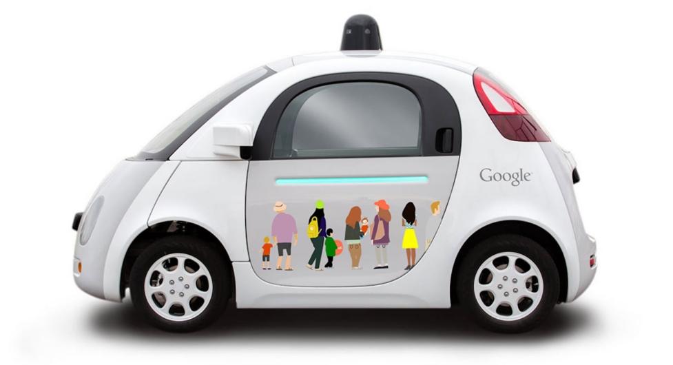 Google incorpora el sistema de carga inalámbrico a su coche autónomo