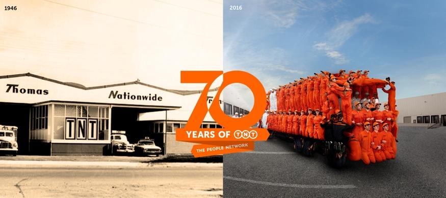 TNT celebra su 70 aniversario cumpliendo con la satisfacción del consumidor