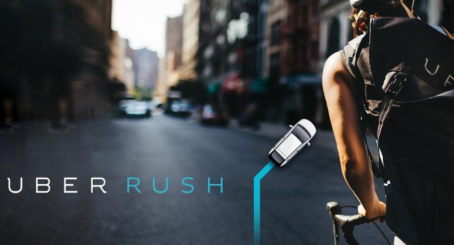 Rush, el nuevo servicio de paquetería de Uber