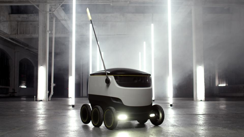 Los robots comienzan a competir con los drones en el sector de la logística