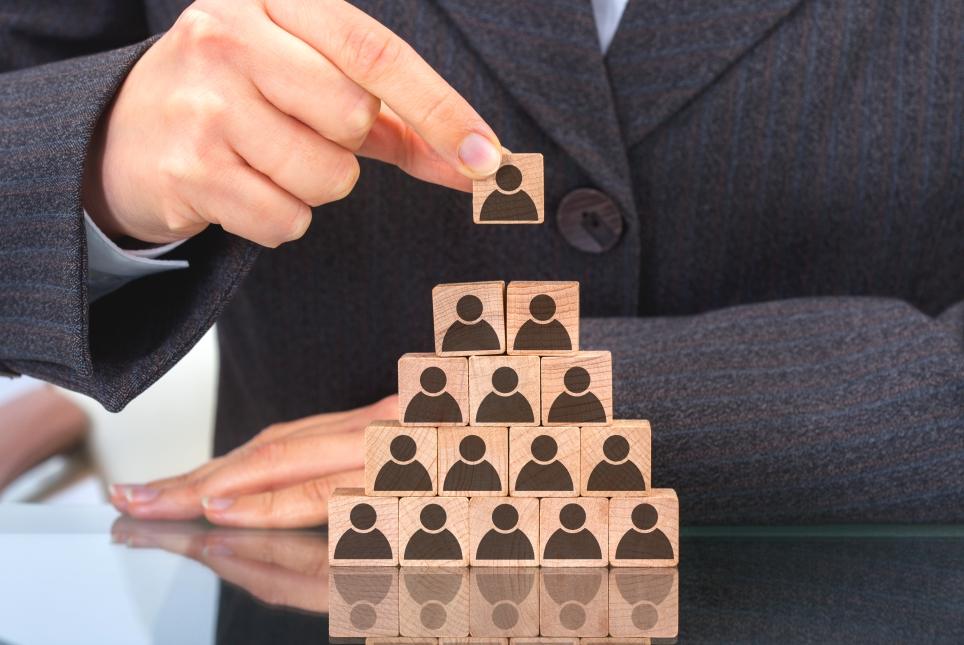 La jerarquía deja paso a una nueva estructura empresarial