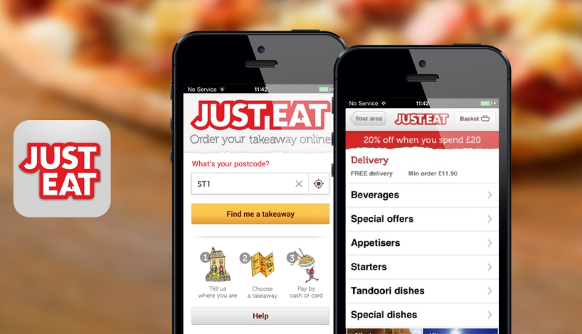 Just Eat aumenta su facturación casi un 60% en 2015
