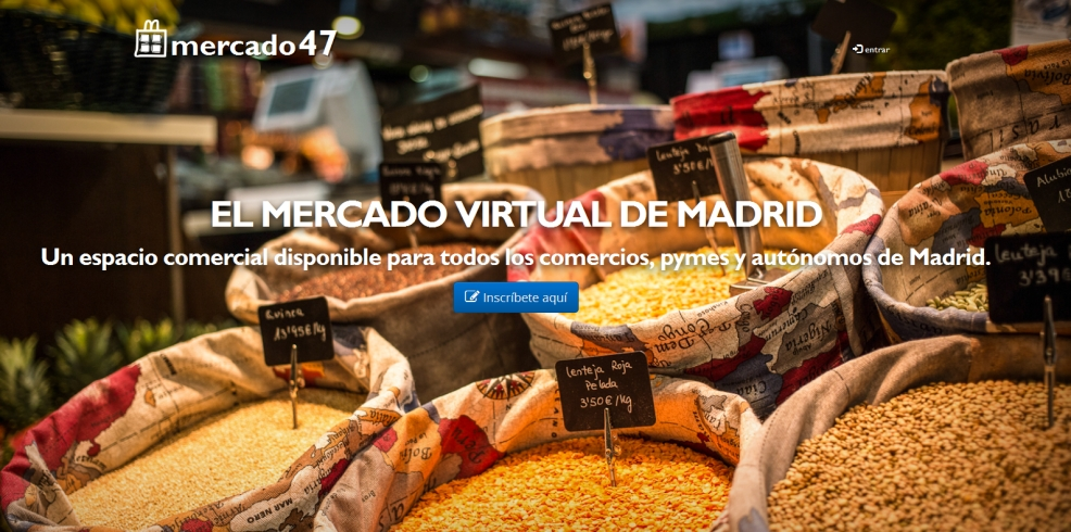 Nace 'Mercado47', un marketplace para los comercios y mercados municipales de Madrid