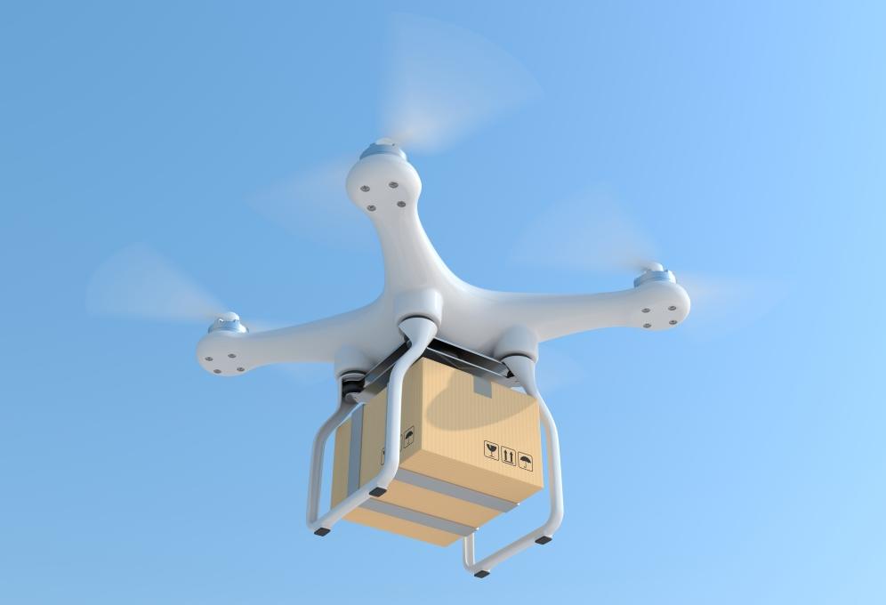 Rakuten comienza la entrega con drones en Japón