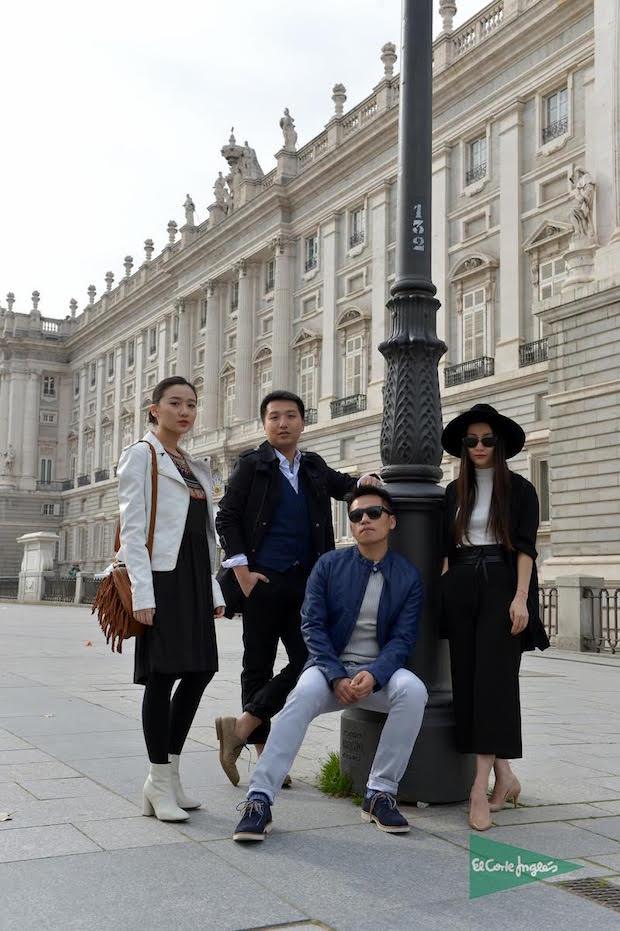 Los cuatro invitados chinos de El Corte Inglés