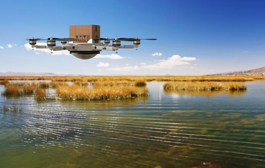 La startup Zipline comienza la entrega en África de material médico con drones