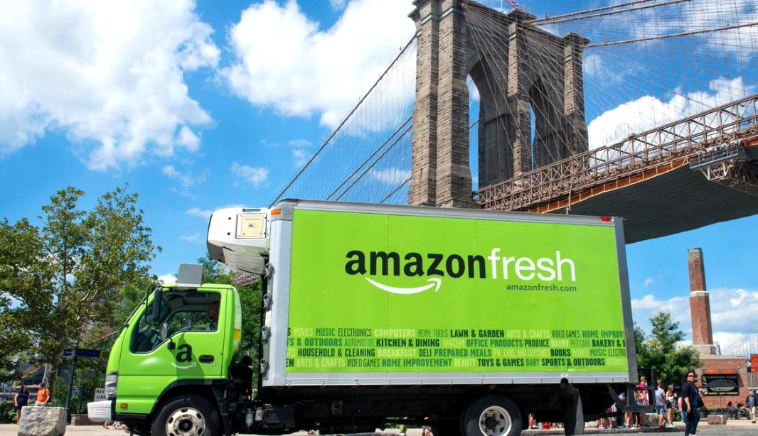 AmazonFresh desembarca en Europa con su llegada a Londres