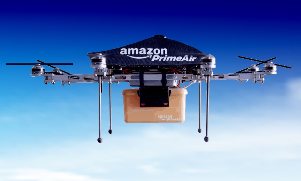Amazon registra una patente que revolucionará el mundo de los drones