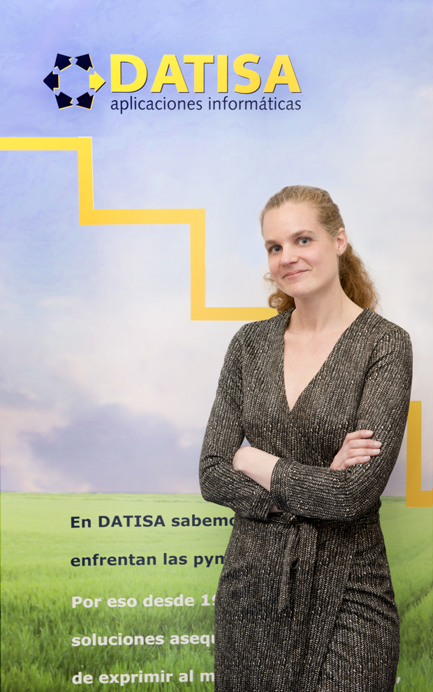 Isabel Pomar, directora comercial y de marketing de Datisa.