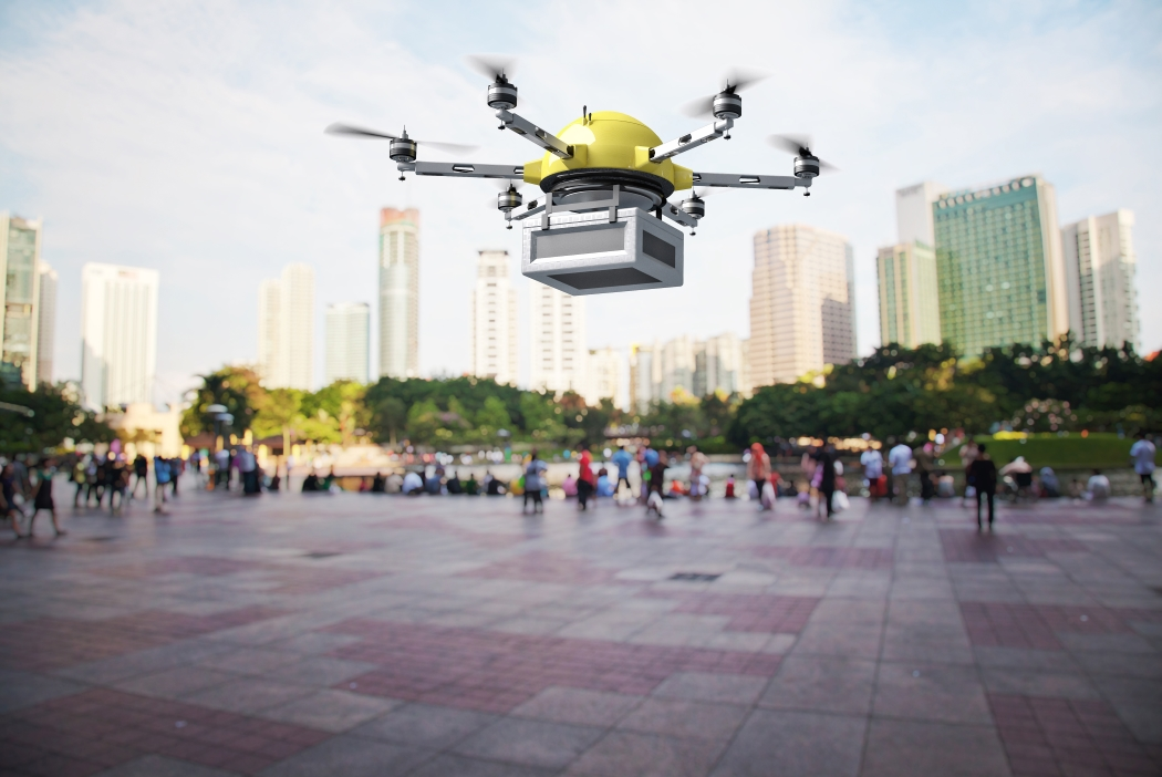 Aumentan los envíos con drones en cerca del 250%