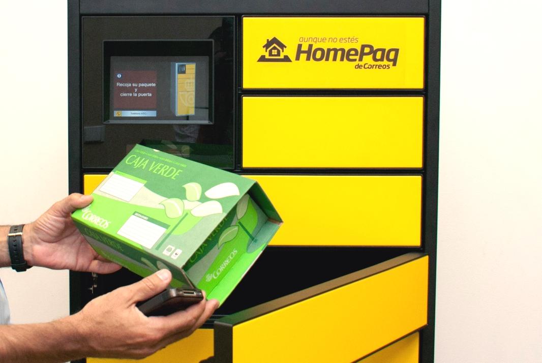Correos invierte 5 millones de euros en nuevos dispositivos HomePaq adjudicados a Azkoyen