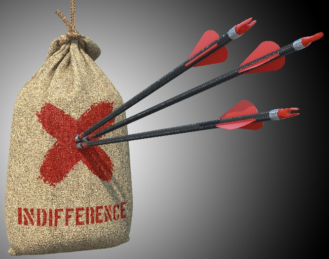 La indiferencia fluye hacia las marcas