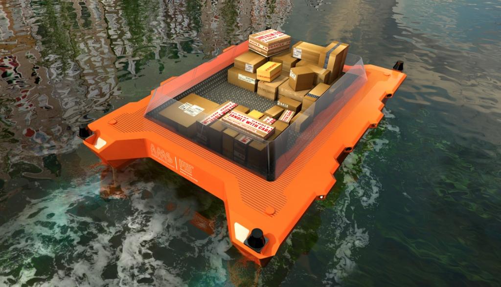 Los primeros barcos autónomos verán la luz en Amsterdam
