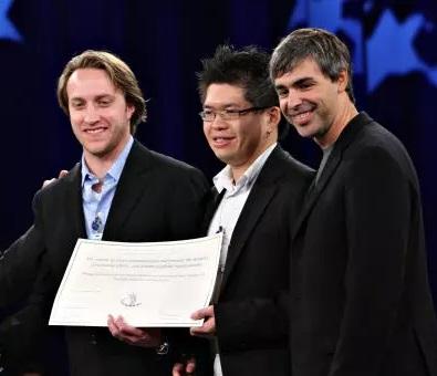 . Chad Hurley, Steve Chen y Jawed Karim