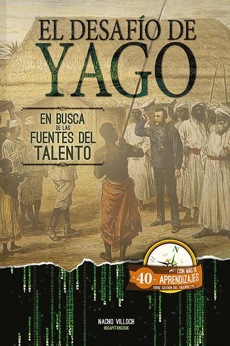 """Portada """"El Desafío de Yago: En busca de las fuentes del Talento"""""""