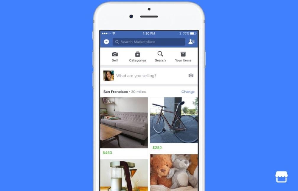 Facebook lanza su propio servicio de compraventa online
