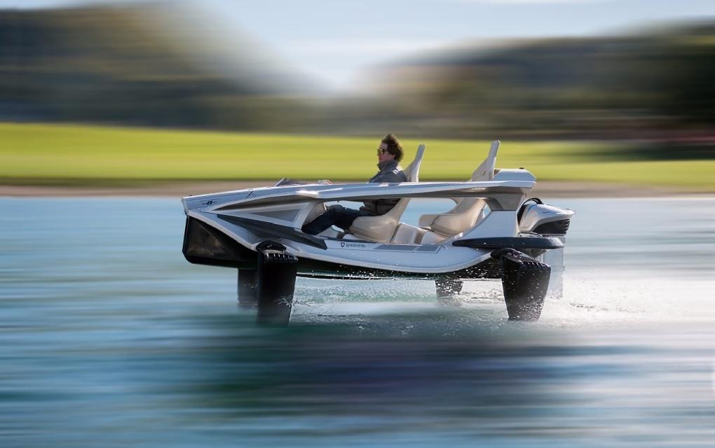 Nace el primer coche eléctrico capaz de surcar los mares