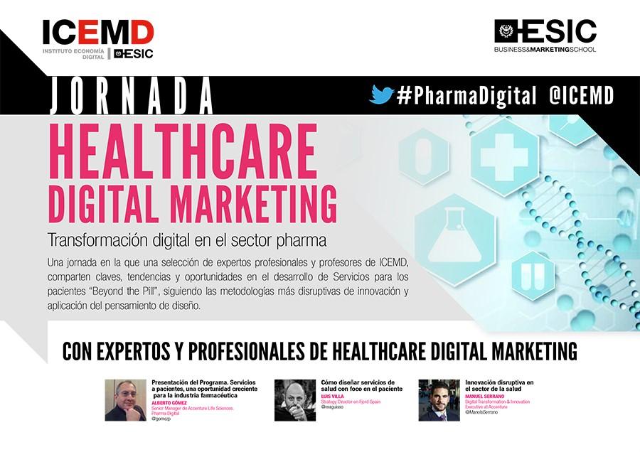 ICEMD organiza la Jornada Healthcare Digital Marketing:  Claves, tendencias y oportunidades en el sector