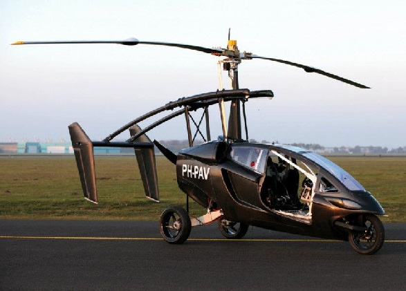 Así es Liberty Pioneer, el primer coche volador de PAL-V
