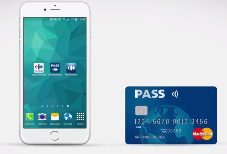 Carrefour amplía las opciones de pago desde el móvil con su tarjeta Pass