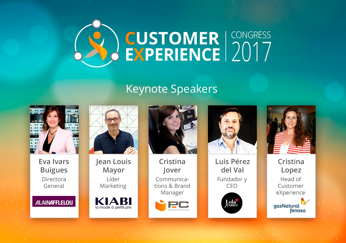 Customer Experience Congress 2017 – ¡Save the date: vuelve CEC!