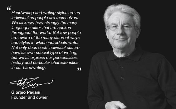 Pagani Pens,  líder en el sector de fabricación de útiles de escritura