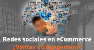 Cartel Redes sociales en eCommerce