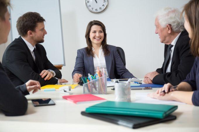 Convivencia de generaciones en la oficina