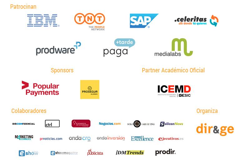 Patrocinadores, sponsors y media partners CEC 2015