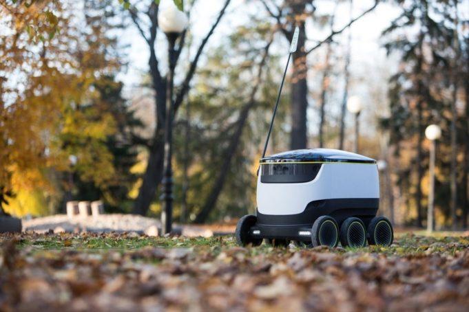 Robot servicio de entrega