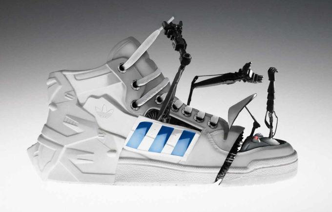 Adidas robots