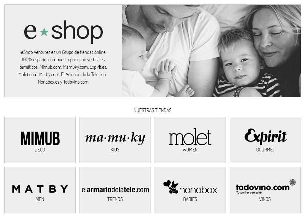 Eshop Ventures duplica sus ventas de 2014 y consigue más de 3 millones de euros de facturación