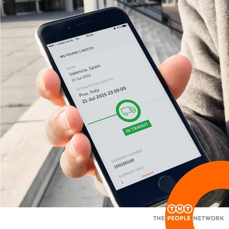TNT apuesta por la tecnología con nuevas herramientas de envíos online