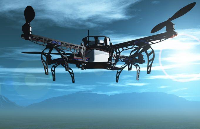 aeropuerto de drones