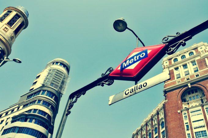 la tienda de Metro de Madrid