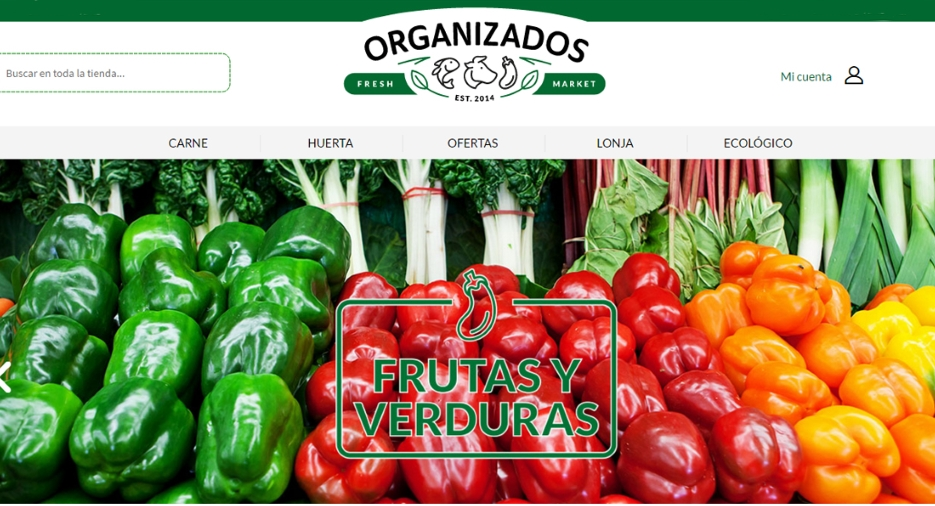 Llega a España el mercado online de productos frescos con Organizados.es