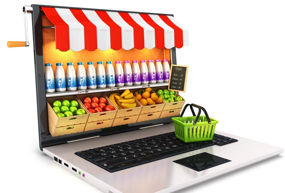 La compra en supermercados online no llega al 1% en España