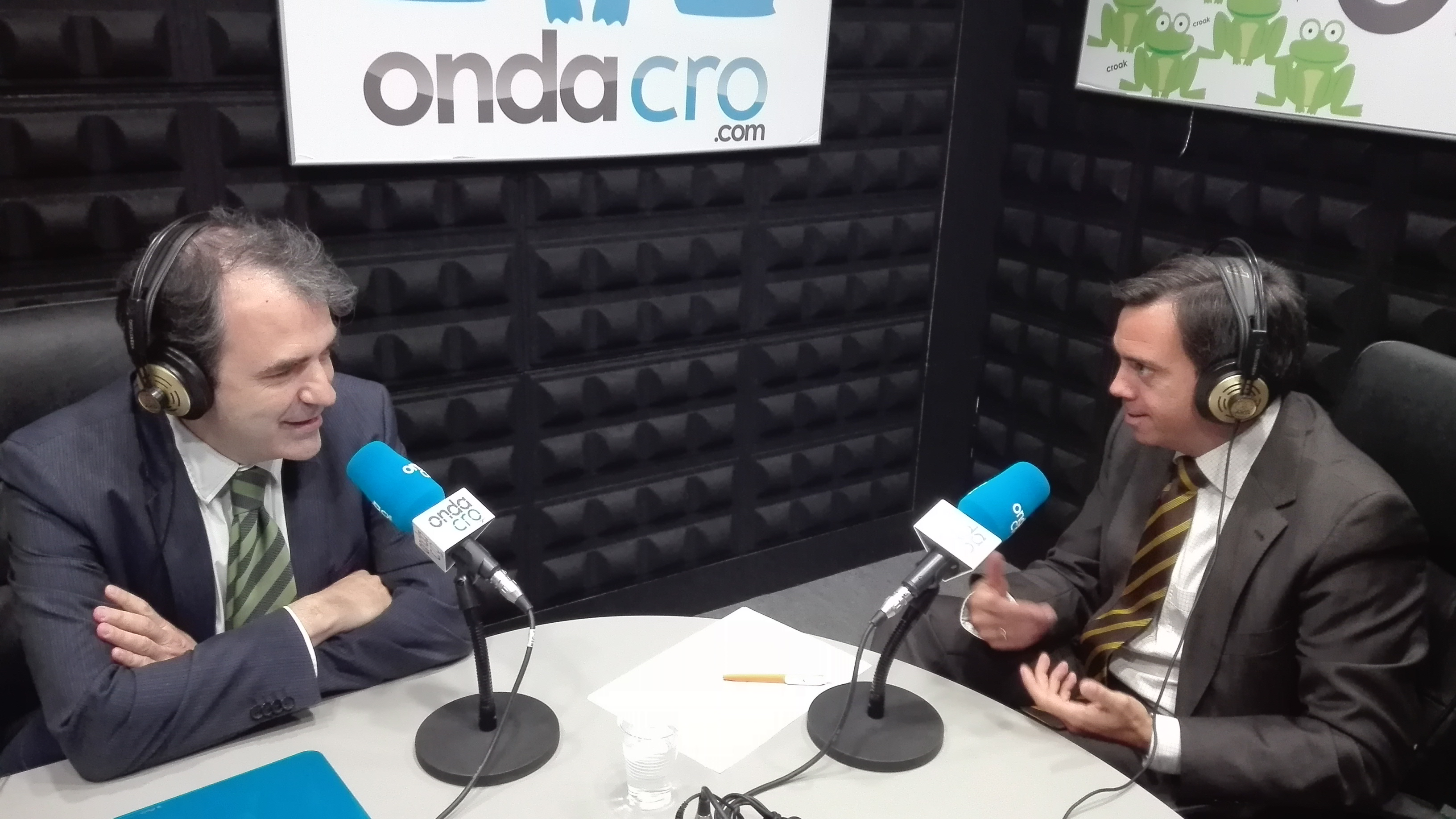 José María Sánchez, General Manager de Prodware Spain y Juan Carlos Lozano, CEO de DIR&GE