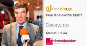 Keynote Manuel Hevia de VinoSelección. Desayuno DIR&GE