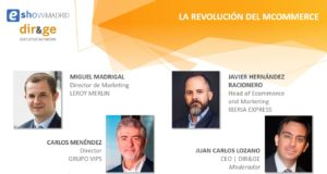 Mesa de debate diryge – eshow 2016. Las ocho claves del Mobile Commerce