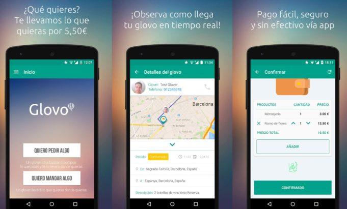 glovo-mensajeria app
