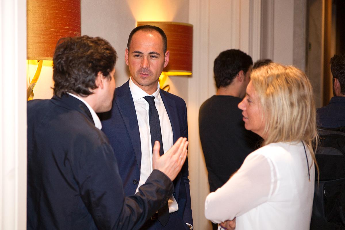 Xavier Calvo Sabrià, Director Comercial Nacional en Nacex y Arianne Muñoz de Wolf, Responsable de Marketing en Nacex.