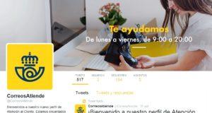 CORREOS apuesta por Twitter como canal de atención al cliente