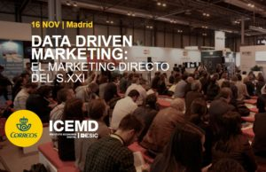 CORREOS e ICEMD organizan la jornada Data Driven Marketing: el Marketing Directo del siglo XXI