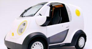 Nace en Japón el primer vehículo de reparto urbano impreso en 3D